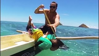 Crazy And Super Cute Daddy And Babies Moments - 2019