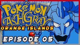 Pokemon Ash Gray Orange Islands Episode 05 - Crystal Onix! Gameplay Walkthrough