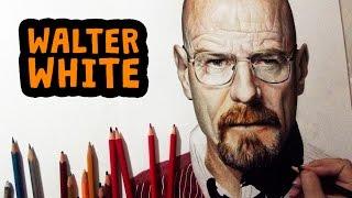 Desenhando Walter White | Heisenberg (Breaking Bad)