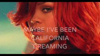 California King Bed - Rihanna - Karaoke male version lower (-4)