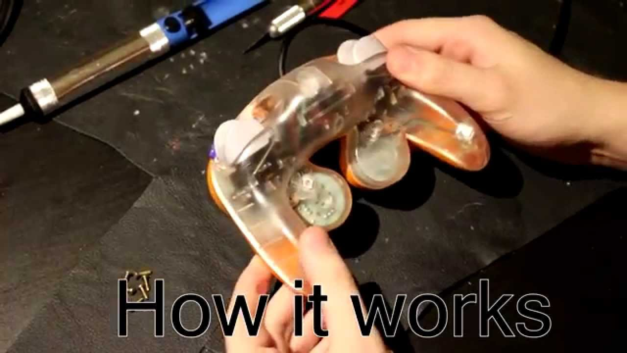 Shinewave Reactive Gamecube Controller Led Mod Youtube Drives 10 Leds