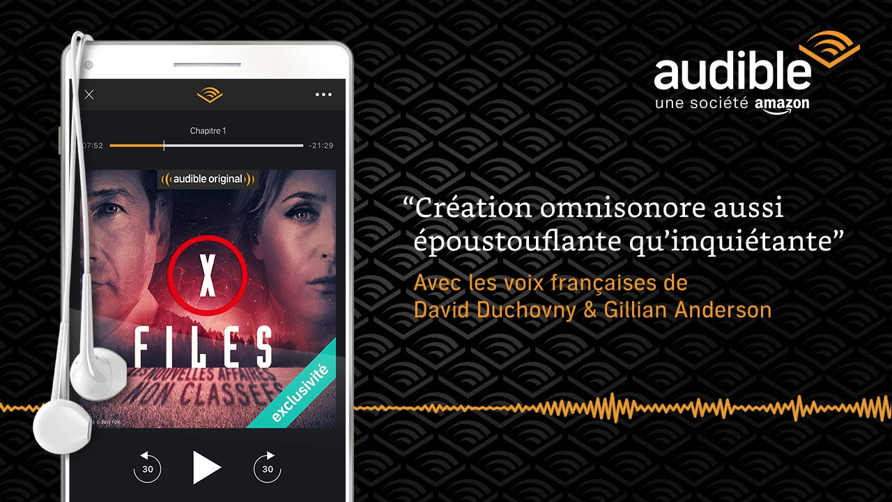 X Files 5 Enquetes Inedites Une Creation Omnisonore Audible Livre Audio