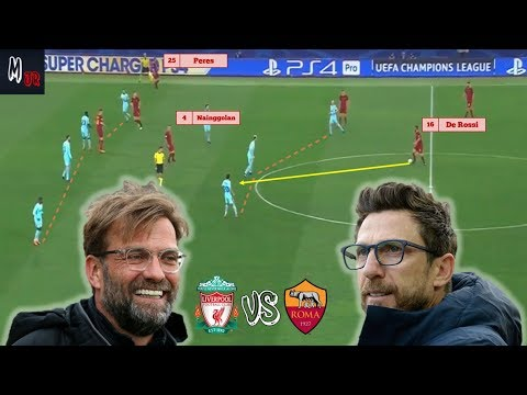 Liverpool VS AS Roma / Tactical Preview / Who Can Reach The Final?