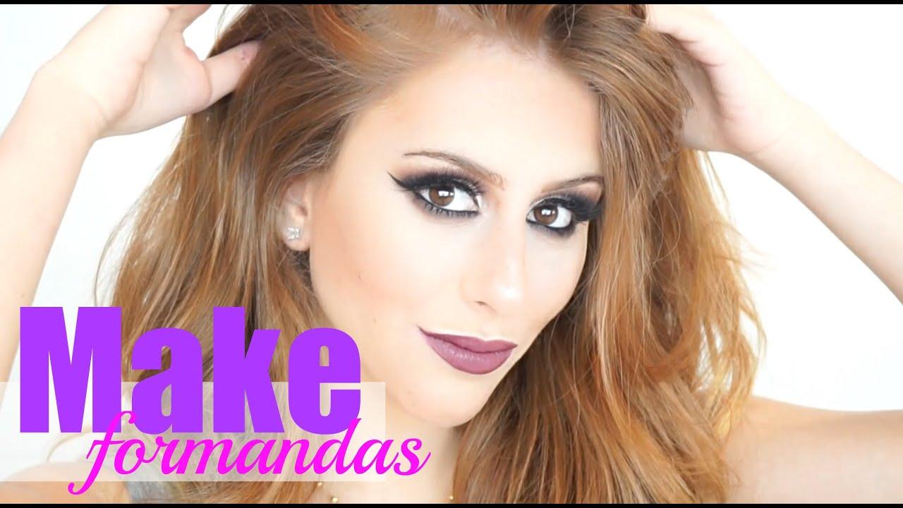 Conhecido Passo a Passo Maquiagem Super Fácil para Formandas - YouTube HE32