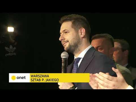 Patryk Jaki - przemówienie po ogłoszeniu wyników #Wybory2018 | OnetNews