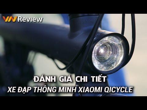 Đánh giá chi tiết xe đạp thông minh Xiaomi QiCycle