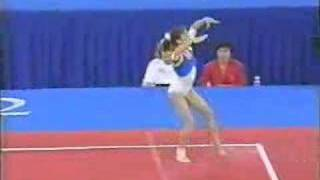 Lavinia Milosovici '92 Olympics Floor Exercise Event finals