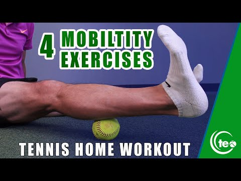 TENNIS FITNESS: 4 Ways To Improve Your Tennis Mobility At Home #StayHome