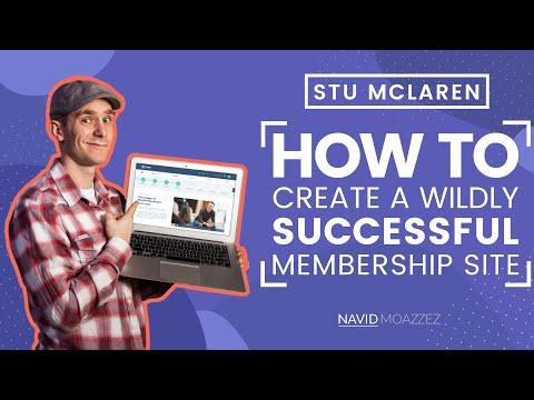 How to Create a Successful Membership Site with Stu McLaren (TRIBE)