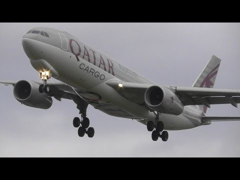 Crosswinds at London Heathrow Airport, RW27L Arrivals | 22-11-17