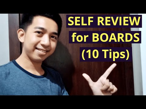 PAANO PUMASA sa BOARD EXAM nang SELF REVIEW lang?? (10 Tips)