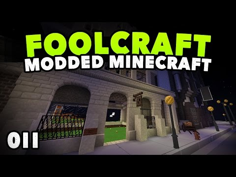 FoolCraft 011 | NEW YORK CITY TOWER | A Minecraft Modded Let's Play