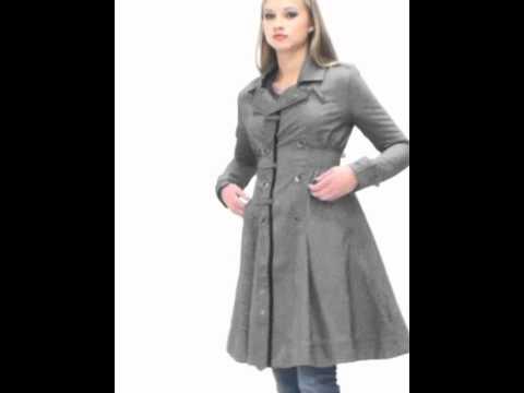 manteau trench ceintr long femme diesel gris youtube. Black Bedroom Furniture Sets. Home Design Ideas