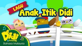 Lagu Kanak Kanak | Anak Itik Didi | Didi & Friends