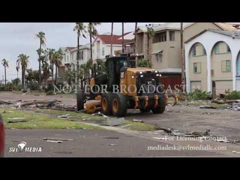 Port Aransas, TX Harvey Damage Clean Up Interview 8-26-2017