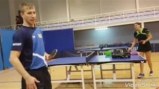 Тренировка Букина и Гарновой