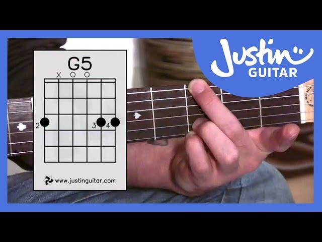 G Chord Variations | JustinGuitar.com