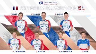 La bande-annonce de l'Equipe Groupama-FDJ pour le Critérium du Dauphiné