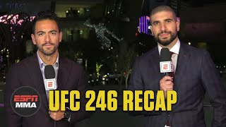 Conor McGregor knocks out Cowboy Cerrone in return | UFC 246 Recap | ESPN MMA