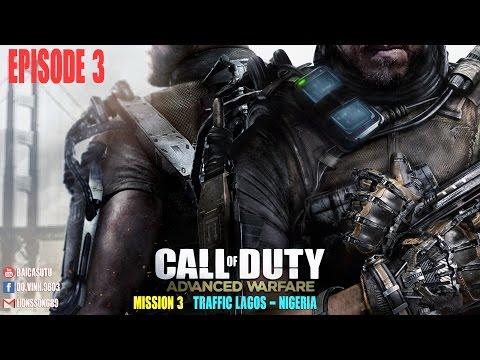 Call of Duty Advanced Warfare   Mission 3 Traffic Lagos - Nigeria