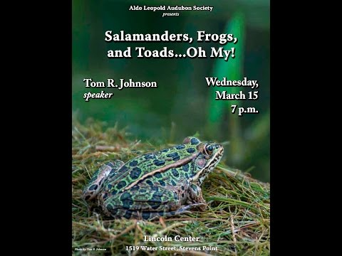Amphibians of Central Wisconsin by Tom Johnson