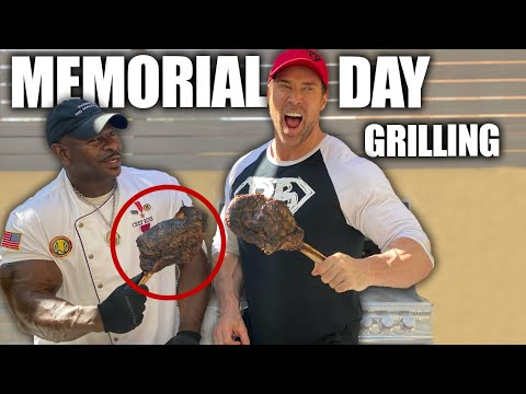 Memorial Day Grilling With White House Chef And Veteran Chef Rush | Mike O'Hearn