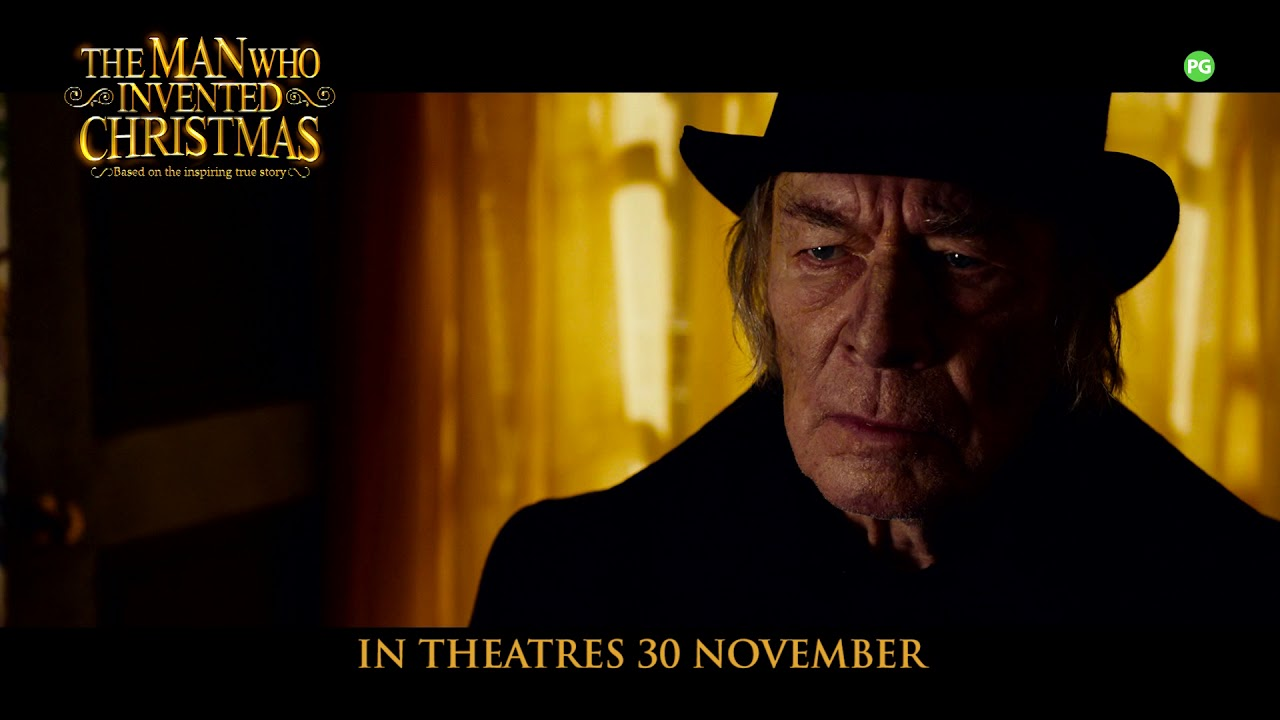 the man who invented christmas official trailer shaw theatres