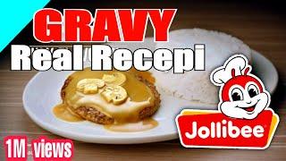 JOLLIBEE GRAVY SECRET RECEPI REVEALED   THE REAL RECEPI OF JOLLIBEE GRAVY