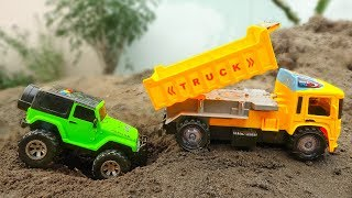 Construction Vehicles Toys for kids | Fire Trucks, Dump Trucks for Children - G258B
