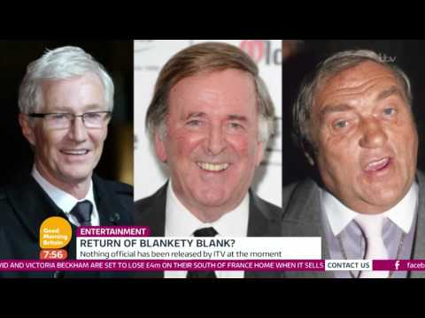 Blankety Blank May Be Returning | Good Morning Britain