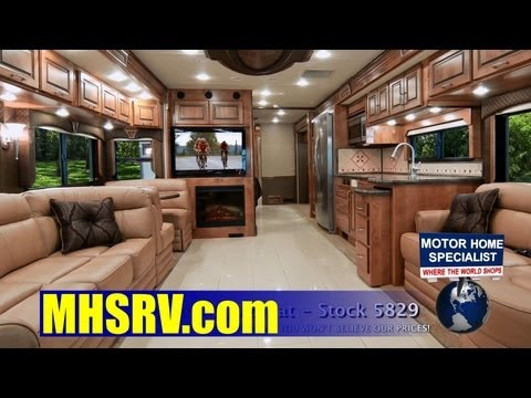 2013 Monaco Diplomat Luxury Diesel Review at Motor Home Specialist #5829