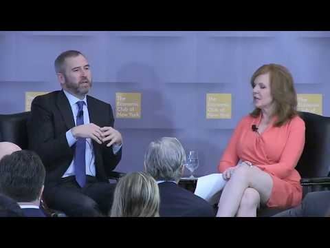 Ripple CEO Brad Garlinghouse At The Economic Club Of New York,