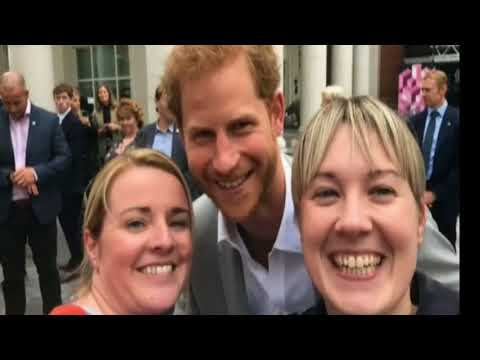 Prince Harry's First Visit To Northern Ireland