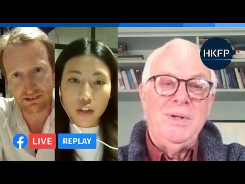 """HKFP_Interview: Lord Chris Patten on Hong Kong's security law & accusations of """"interference."""""""