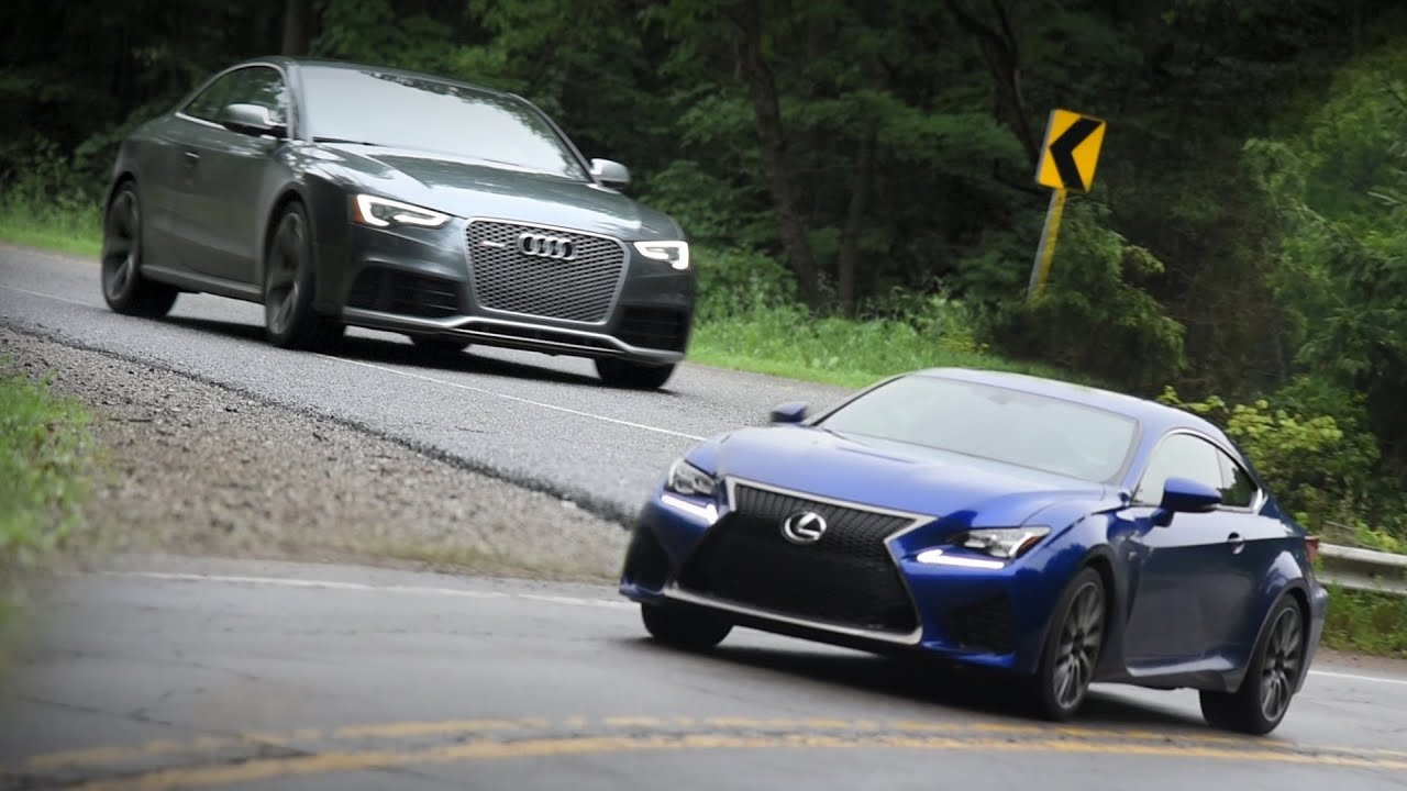 2015 Lexus RC F vs 2015 Audi RS 5