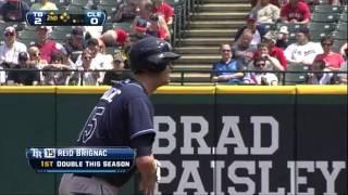 2011/05/12 Brignac's two-run double
