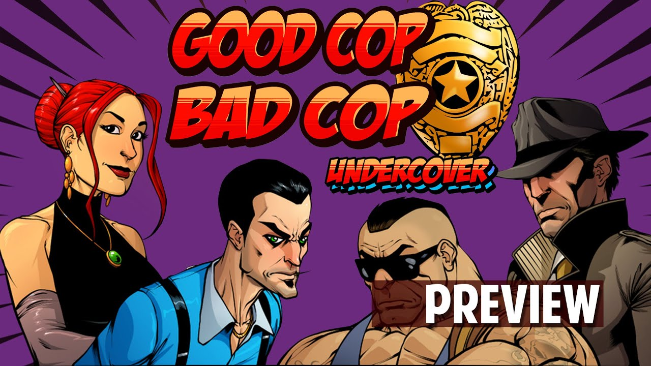 Good Cop Bad Cop Undercover By Overworld Games Kickstarter