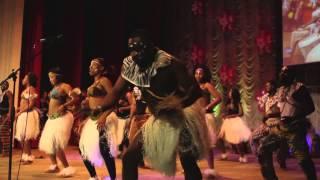 видео Шоу африканских барабанщиков