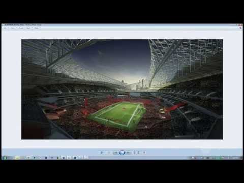 3D Football Stadium - Create with 2D/3D People (Forest Pack), + Crowds in Photoshop
