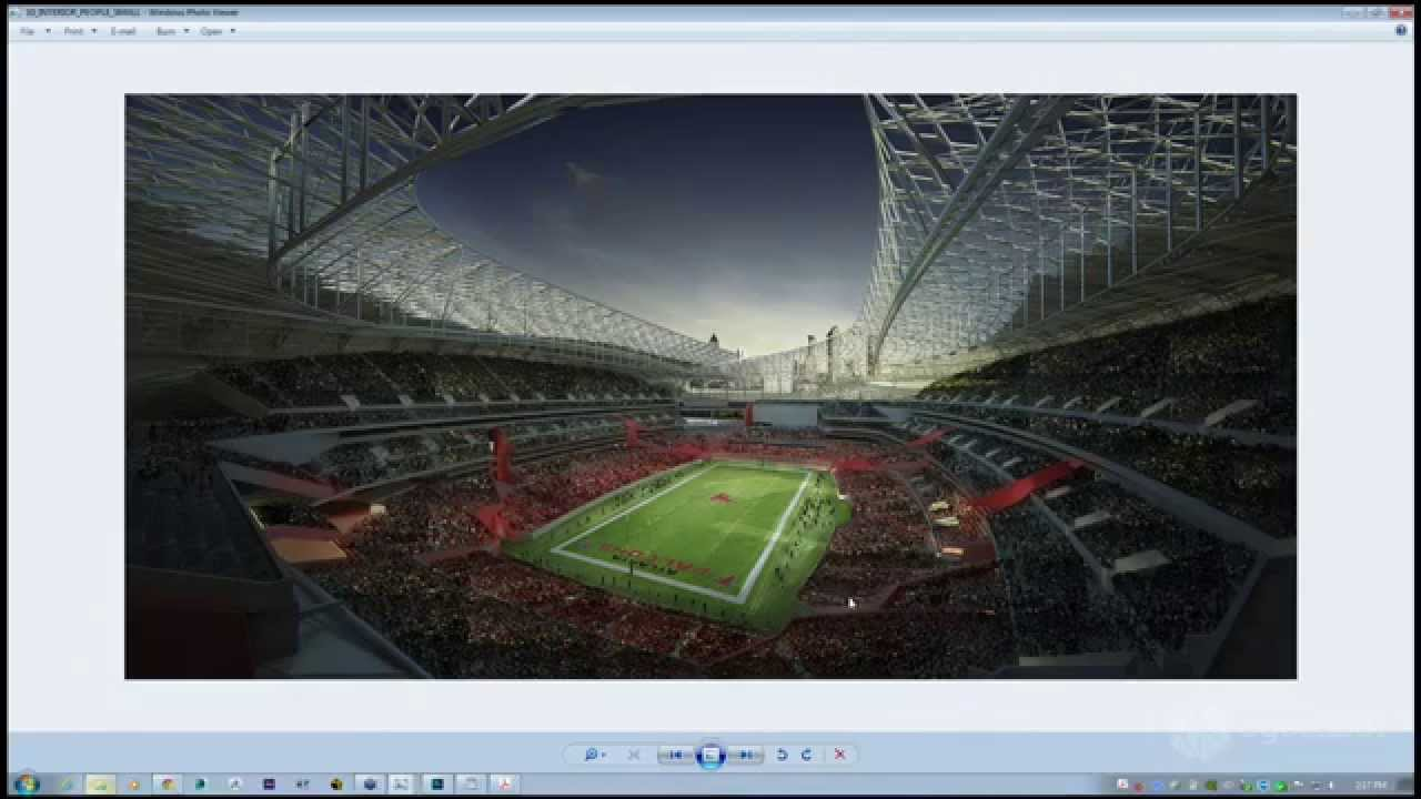 3d stadium design widescreen - photo #7