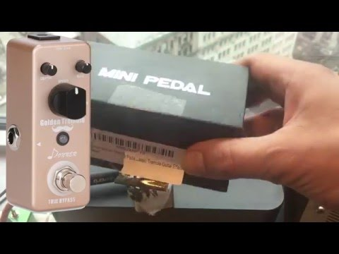 Donner Golden Tremolo ★ FIRST LOOK ★ Review