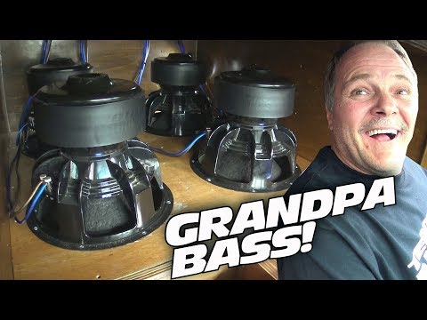 """LOUD GRANDPA"" Blasting World RECORD Car Audio Install w/ Insane SPL Subwoofer Sound Systems"