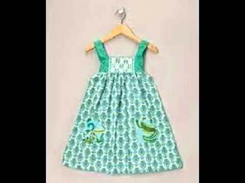 7a03d0115a63 Baby Girls Cotton Frocks - YouTube