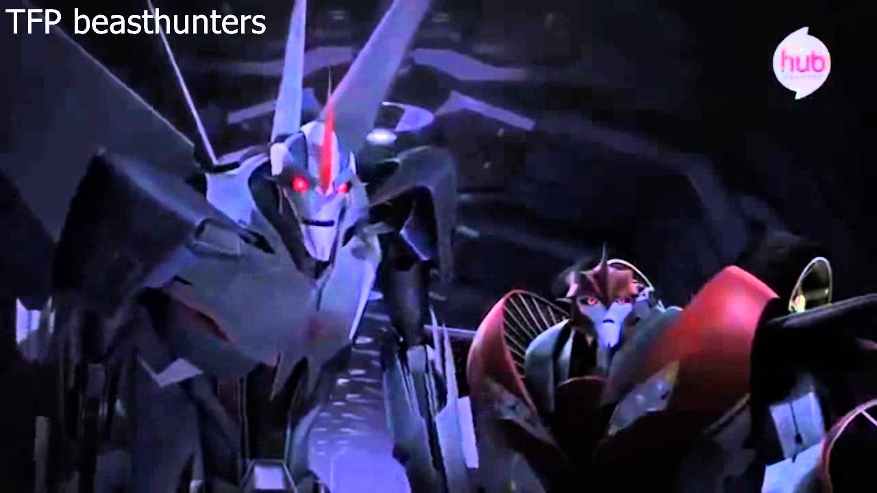 transformers prime beast hunters quotthirstquot clip youtube