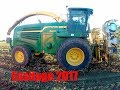 Ensilage 2017/Ensileuse Johndeere et tracteur Fiat Johndeere et Claas