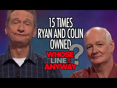 "15 Times Ryan AND Colin Owned ""Whose Line Is It, Anyway?"""