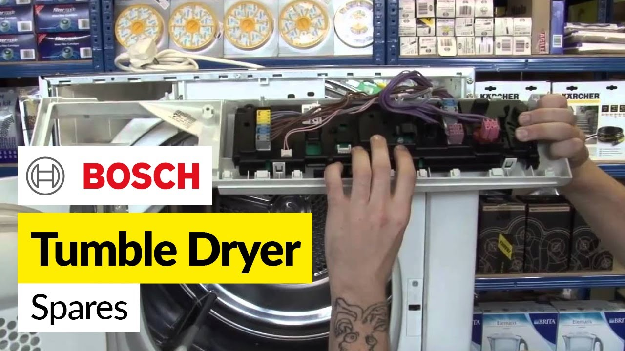 Bosch tumble dryer spares youtube swarovskicordoba Image collections