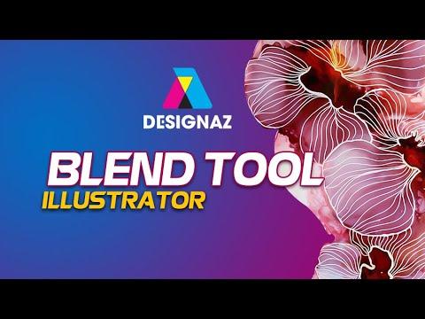 Hướng dẫn Sử dụng Blend tool trong Adobe Illustrator , Học thiết kế đồ họa