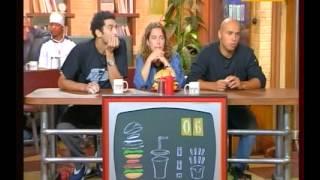 Burger Quiz _ Alain Chabat - Eric, Ramzy, Joey Starr, A. de Petrini - part 2