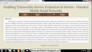 Enabling Trustworthy Service Evaluation in Service-Oriented Mobile Social Networks